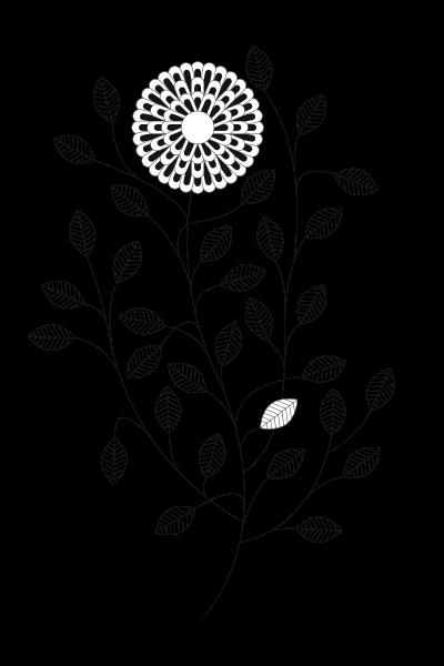 Cuisine Végétale Motif-fleurs-2